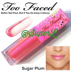 2/$15 NEW Too Faced Glossy Rich Dazzling Lipgloss